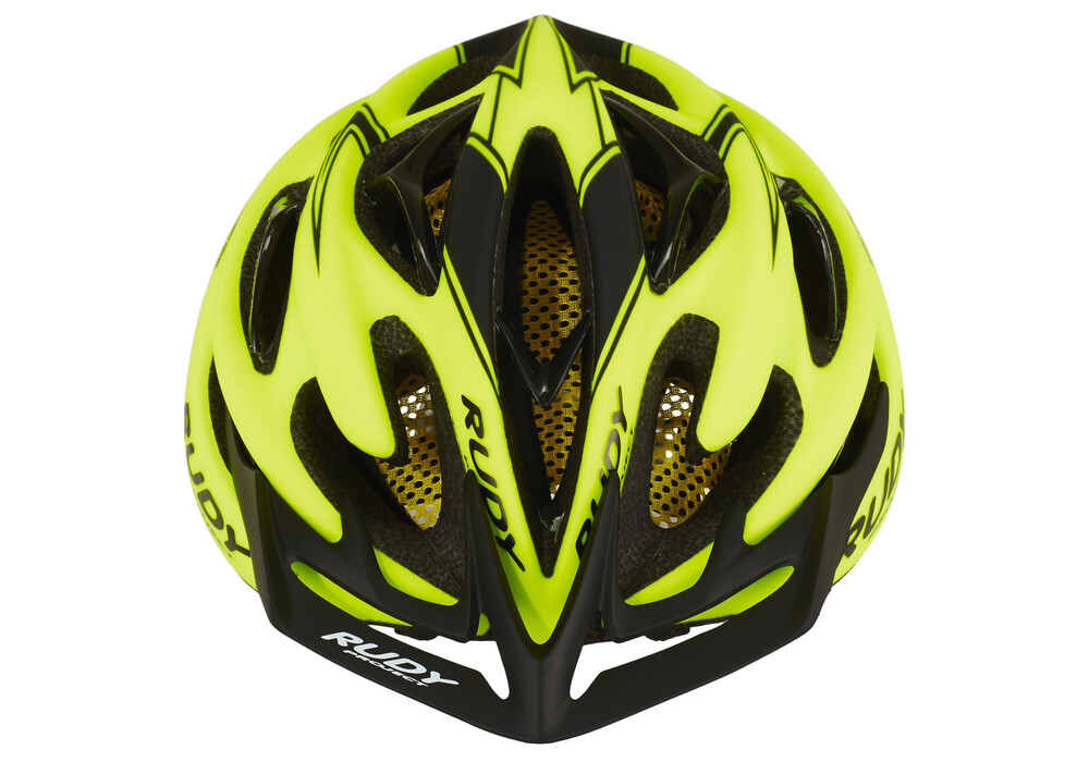 rudy project sterling helmet New appealing fluo colours indispensable for protection, fundamental for optimizing times: in a competitive event a helmet can make the difference, and also in terms.